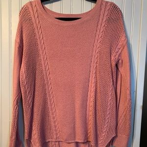 AE pink knot sweater!